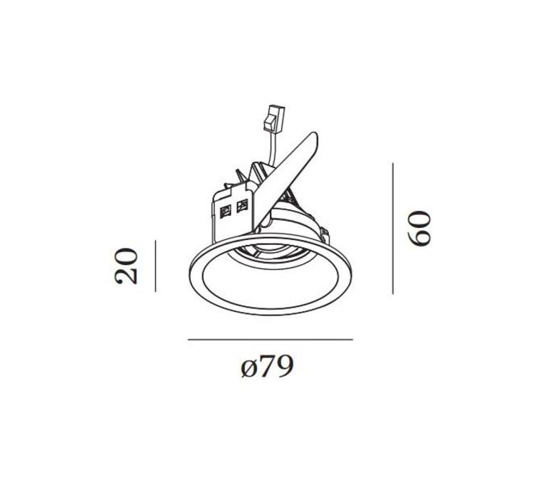 Deep adjust petit studio wever ducre spot spot light  wever et ducre 153361w3c  design signed nedgis 91331 product