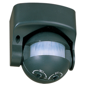 Spot detecteur sensor noir led l8 5cm h9 3cm faro normal