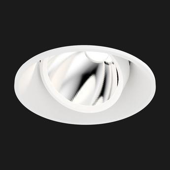 Spot encastrable atlas mix round blanc led 2700k dim touch dali o15cm h12 5cm doxis 1037 45 927 01 normal