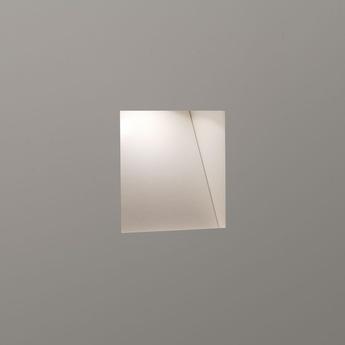 Spot encastrable borgo trimless 65 encastrable sans collerette blanc mat led 2700k 70lm l6 5cm h6 5cm astro normal