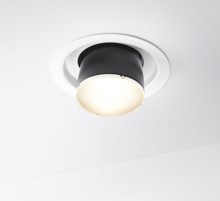 Claque f43 marc sadler spot encastrable recessed light  fabbian f43f01 02  design signed 40110 product