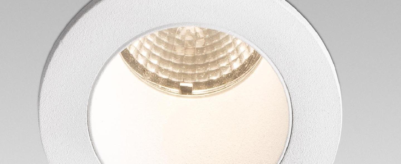 Spot encastrable clear blanc led 3000k 265lm o5 6cm h6 1cm faro normal