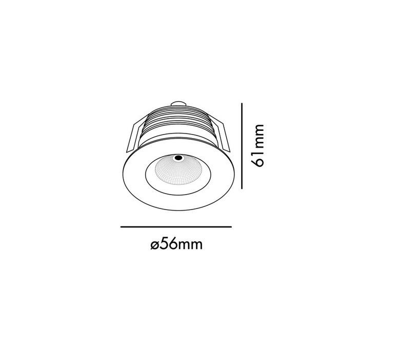 Clear  estudi ribaudi spot encastrable recessed light  faro 02100201  design signed nedgis 63306 product
