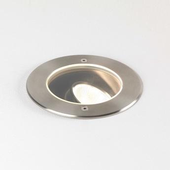 Spot encastrable cromarty 120 spot de sol acier inoxydable brosse ip67 led 3000k 1040lm o12 3cm h18cm astro normal