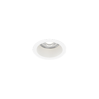 Spot encastrable deep bijou ip65 1 0 led blanc ip65 led 3000k 405 620lm o5 6cm h5cm wever ducre normal