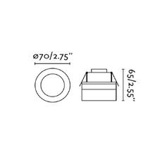 Hyde estudi ribaudi spot encastrable recessed light  faro 40116  design signed nedgis 72317 thumb