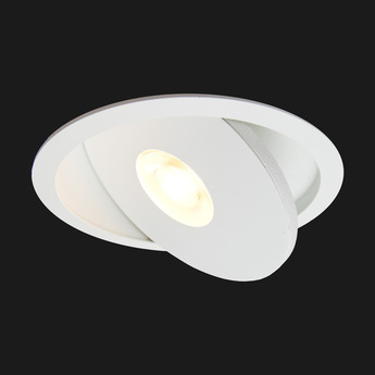 Spot encastrable flat led blanc o12cm doxis normal