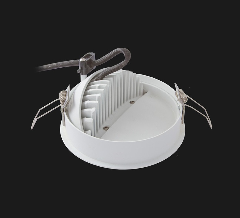 Flat led studio doxis doxis 465 37 930 16 springs luminaire lighting design signed 28010 product