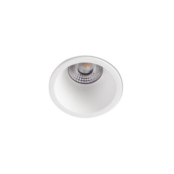 Spot encastrable fox blanc led dim 2700k 535lm o5cm h8 7cm faro normal
