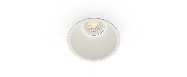 Spot encastrable fresh blanc o90cm h60cm faro normal