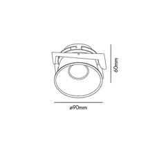 Fresh manel llusca spot encastrable recessed light  faro 02100501 4r033  design signed 35348 thumb