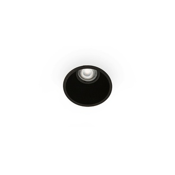 Spot encastrable fresh noir o90cm h60cm faro normal
