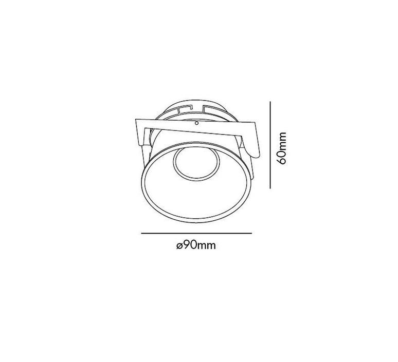 Fresh manel llusca spot encastrable recessed light  faro 02100503 4r033  design signed 35352 product