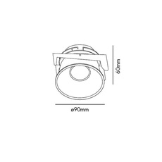 Fresh manel llusca spot encastrable recessed light  faro 02100503 4r033  design signed 35352 thumb