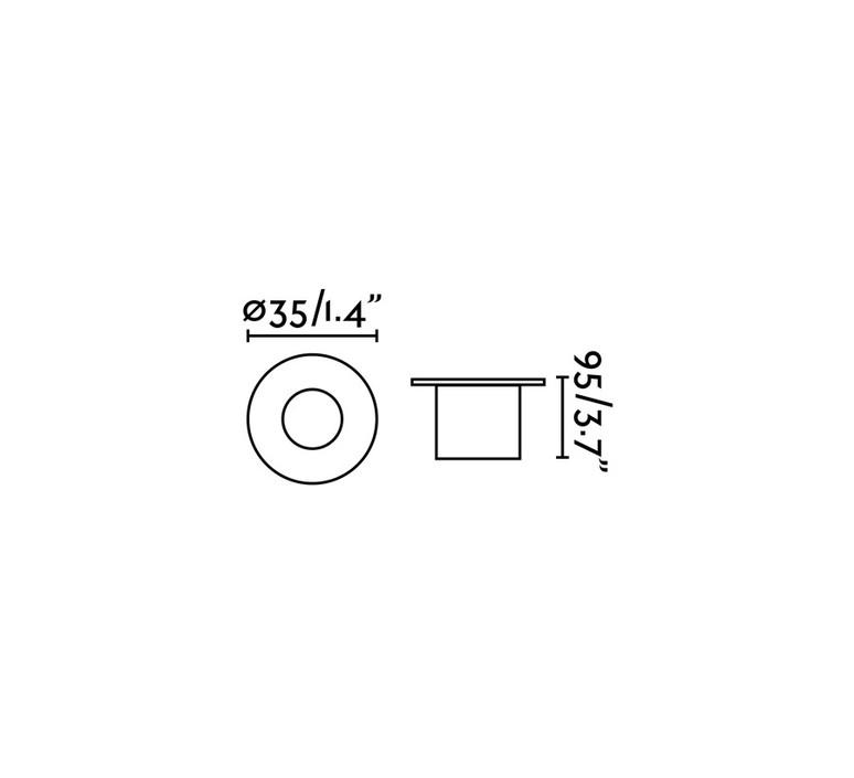 Grund estudi ribaudi spot encastrable recessed light  faro 70726  design signed 48862 product