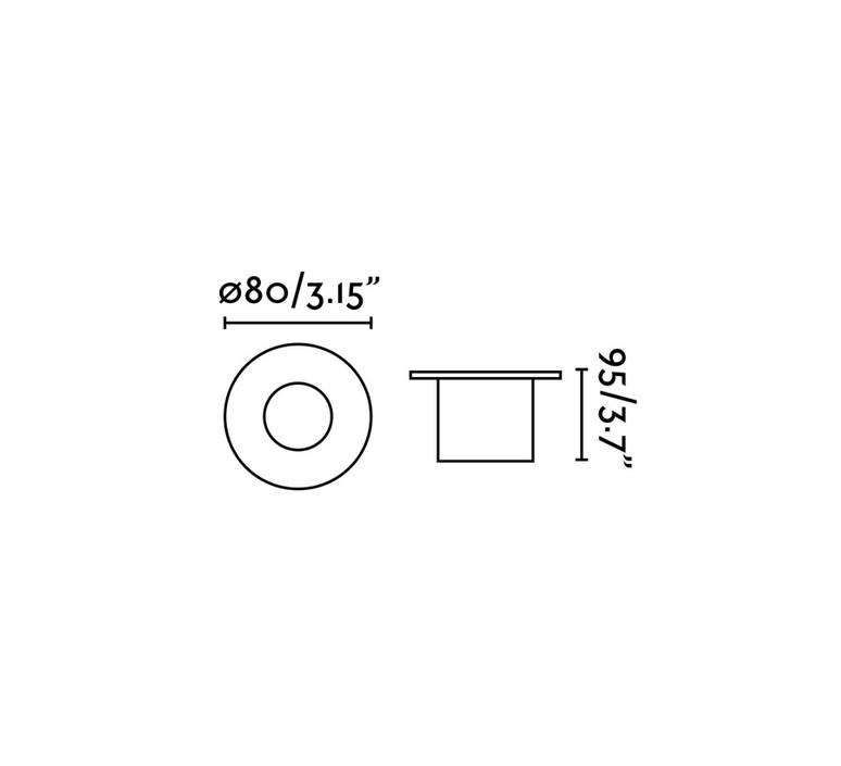 Grund estudi ribaudi spot encastrable recessed light  faro 70728  design signed 48868 product