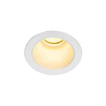 Spot encastrable horn magna blanc led 3000k 470lm o7 8cm h8 2cm slv normal