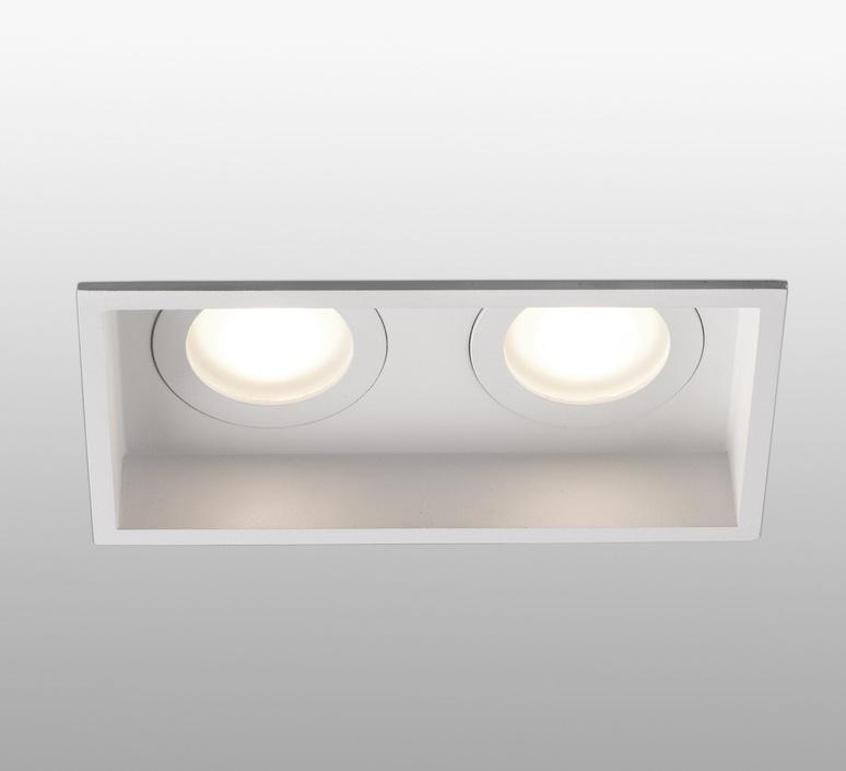 Hyde double ip44 estudi ribaudi spot encastrable recessed light  faro 40124  design signed nedgis 67918 product