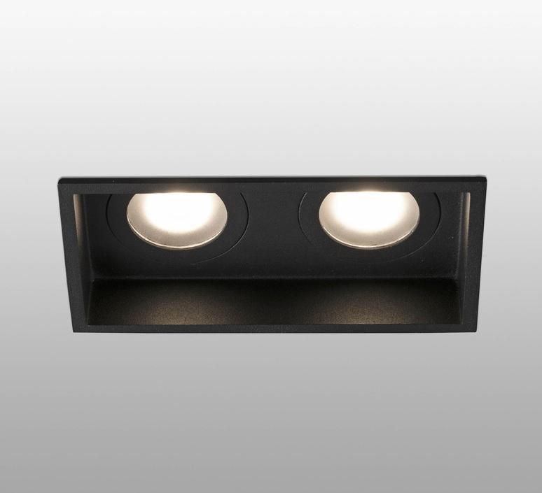 Hyde double ip44 estudi ribaudi spot encastrable recessed light  faro 40125  design signed nedgis 67937 product