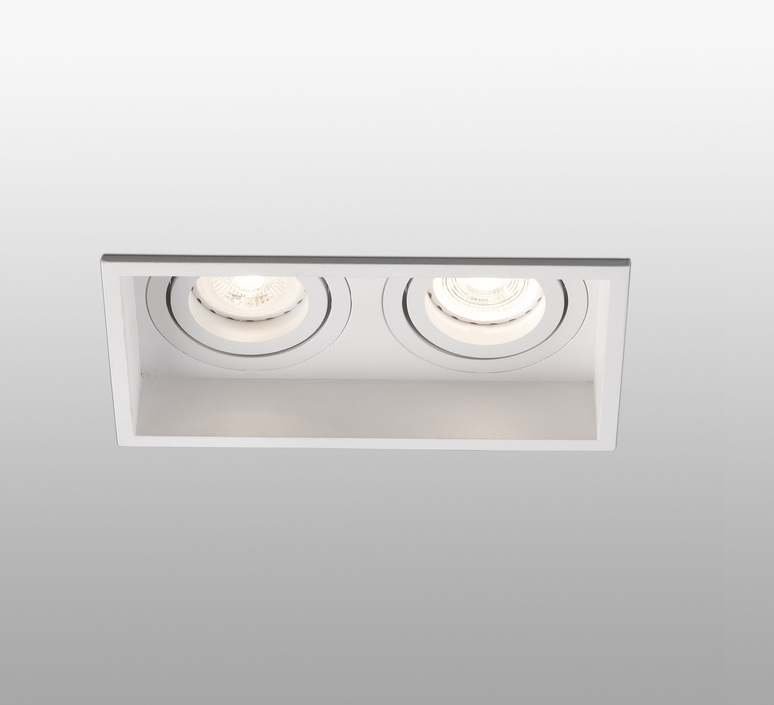 Hyde double orientable estudi ribaudi spot encastrable recessed light  faro 40126  design signed nedgis 67457 product