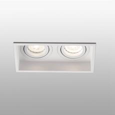 Hyde double orientable estudi ribaudi spot encastrable recessed light  faro 40126  design signed nedgis 67457 thumb