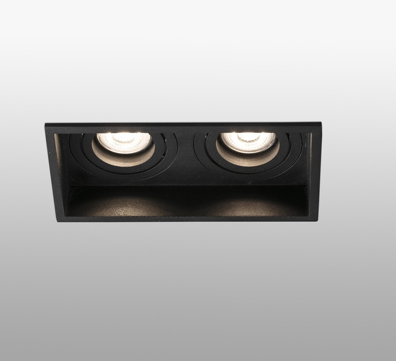 Hyde double orientable estudi ribaudi spot encastrable recessed light  faro 40127  design signed nedgis 67454 product