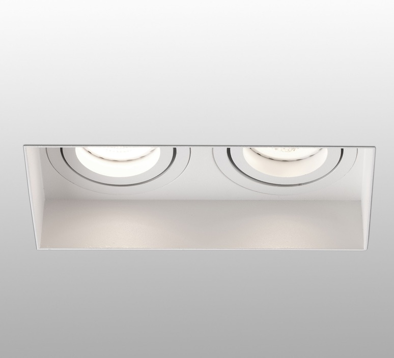 Hyde double trimless orientable  estudi ribaudi spot encastrable recessed light  faro 40122  design signed nedgis 67926 product
