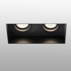 Hyde double trimless orientable estudi ribaudi spot encastrable recessed light  faro 40123  design signed nedgis 67945 thumb
