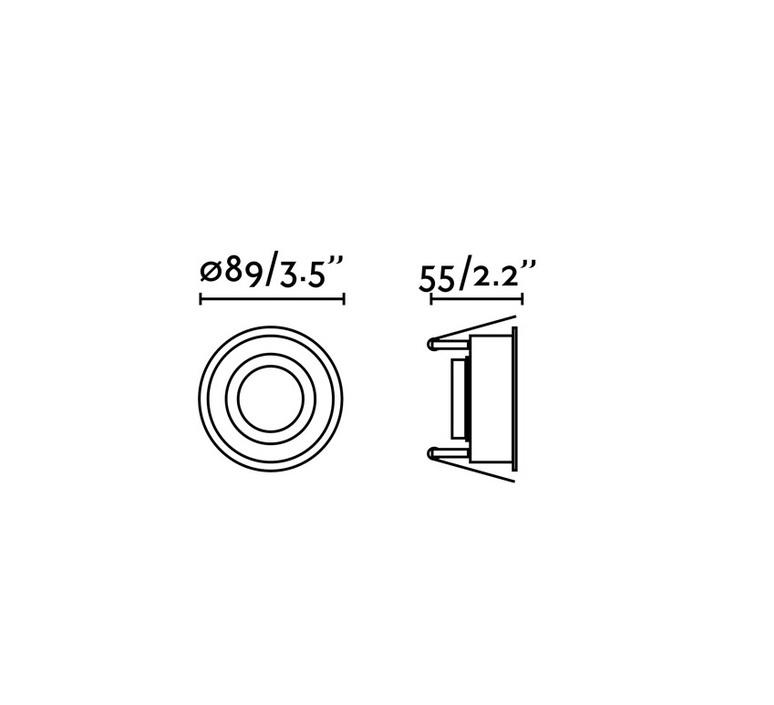 Hyde ip44 estudi ribaudi spot encastrable recessed light  faro 40114  design signed nedgis 67930 product