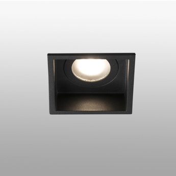Spot encastrable hyde noir o8 9cm h5 5cm faro normal