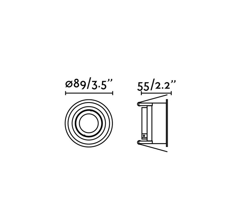 Hyde orientable estudi ribaudi spot encastrable recessed light  faro 40118  design signed nedgis 67934 product