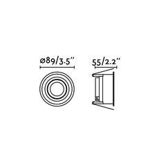 Hyde orientable estudi ribaudi spot encastrable recessed light  faro 40118  design signed nedgis 67934 thumb