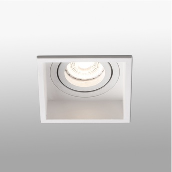 Spot encastrable hyde orientable blanc o8 9cm h5 5cm faro normal