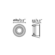 Hyde orientable estudi ribaudi spot encastrable recessed light  faro 40119  design signed nedgis 67954 thumb