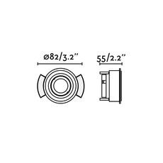 Hyde orientable trimless estudi ribaudi spot encastrable recessed light  faro 40111  design signed nedgis 67957 thumb