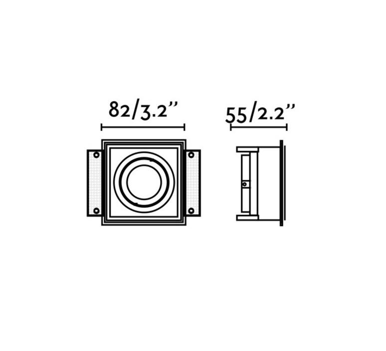 Hyde trimless orientable  estudi ribaudi spot encastrable recessed light  faro 40112  design signed nedgis 67923 product