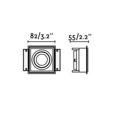Hyde trimless orientable  estudi ribaudi spot encastrable recessed light  faro 40112  design signed nedgis 67923 thumb