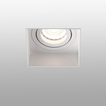 Spot encastrable hyde trimless orientable blanc l8 2cm h5 5cm faro normal