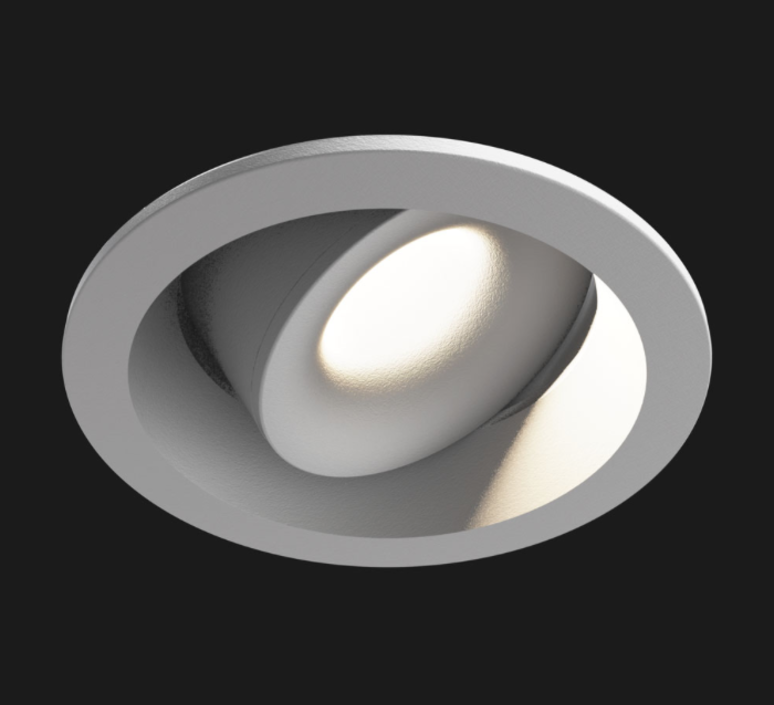 Juno mix deep round 2700k ra90 2 4w 315lm 44 reflector  spot encastrable recessed light  doxis 1510 90 2700 44 18  design signed 39903 product