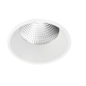 Spot encastrable kono 02 blanc led 3000k 2550lm o10 7cm h16cm onok normal