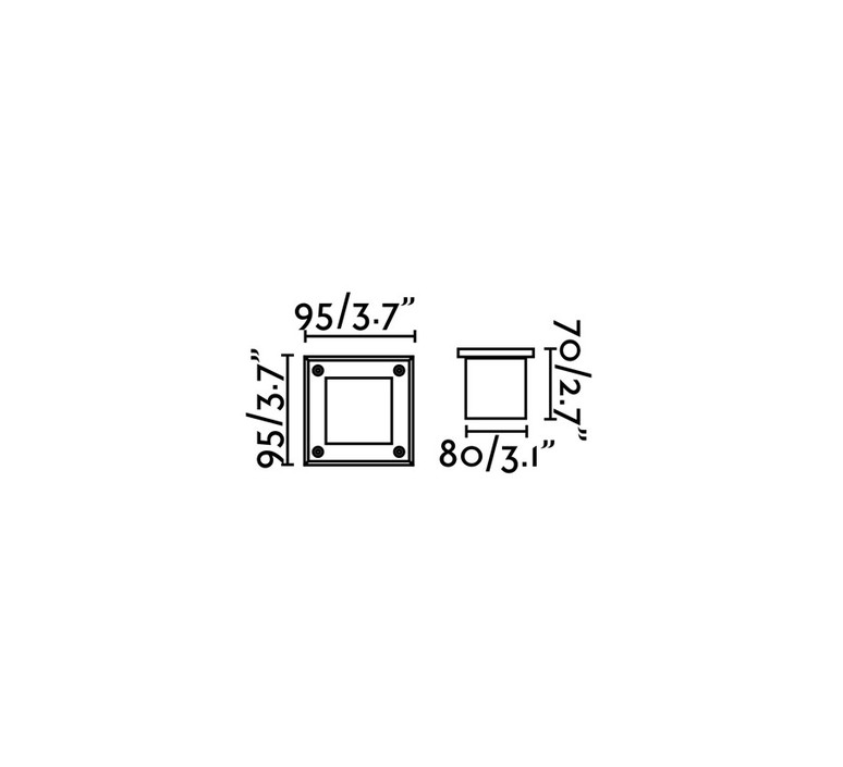 Led 18 estudi ribaudi spot encastrable recessed light  faro 71499n  design signed 48899 product