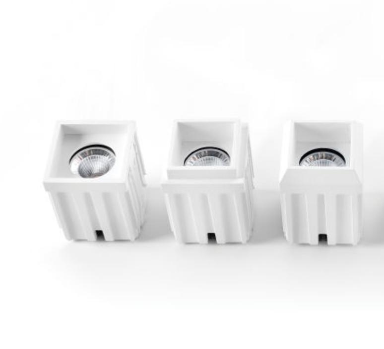 Qbini round in led studio modular spot encastrable recessed light  modular 4x14101109 14174032 14192032  design signed 34837 product