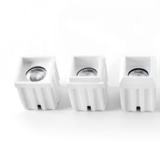 Qbini round in led studio modular spot encastrable recessed light  modular 4x14101109 14174032 14192032  design signed 34837 thumb