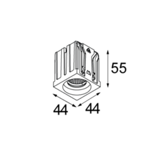 Qbini round in led studio modular spot encastrable recessed light  modular 4x14101109 14174032 14192032  design signed 34838 thumb