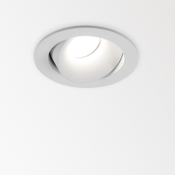 Spot encastrable mini ro ii ok blanc led 2700k 768 1067lm o7 7cm h5 6cm delta light normal