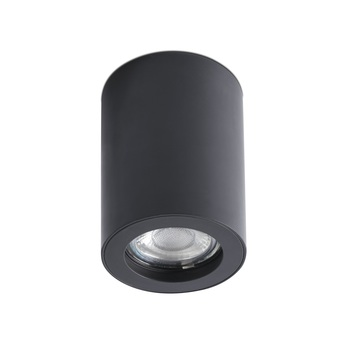 Spot encastrable nan noir o7cm h10cm faro normal