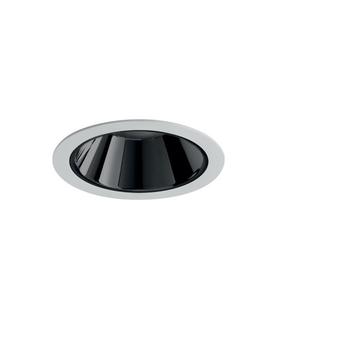 Spot encastrable nemo fix 3000k 2200 lm 24w 38 noir led o11 2cm h14cm pan international rtl21321da normal