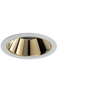 Spot encastrable nemo fix 3000k 2200 lm 24w 38 or led o11 2cm h14cm pan international rtl21421h1 normal