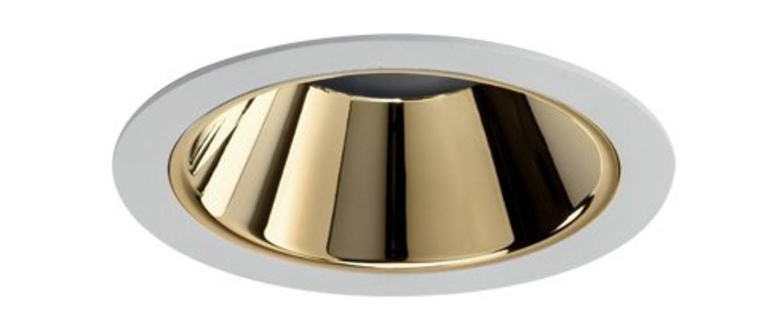 Spot encastrable nemo fix 3000k 2200 lm 24w 38 or led o11 2cm h14cm pan international normal