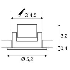 New tria 45 simple rond cs studio slv spot encastrable recessed light  slv 113976  design signed nedgis 94380 thumb